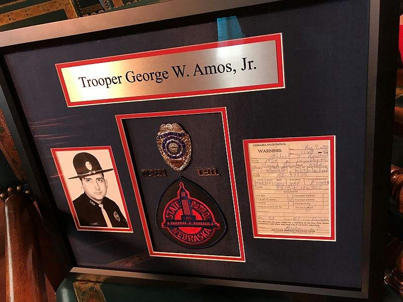 (VIDEO) State Patrol Presents Historical Document to Family of Fallen Trooper