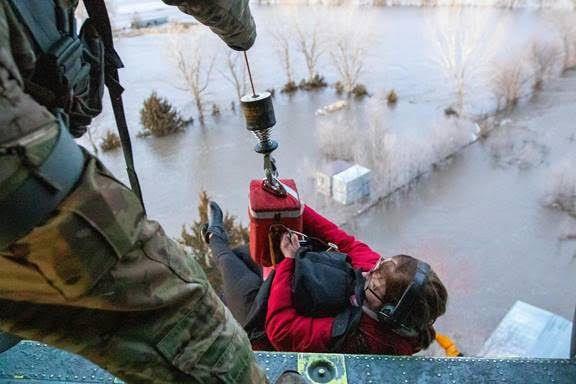 Gov. Ricketts, First Lady Shore Invite Nebraskans to Nominate Flood Heroes