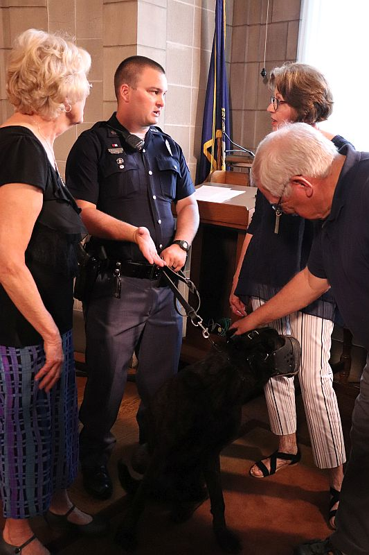 VIDEO) State Patrol Presents Historical Document to Family