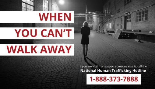 Human Trafficking Hotline Awareness Campaign