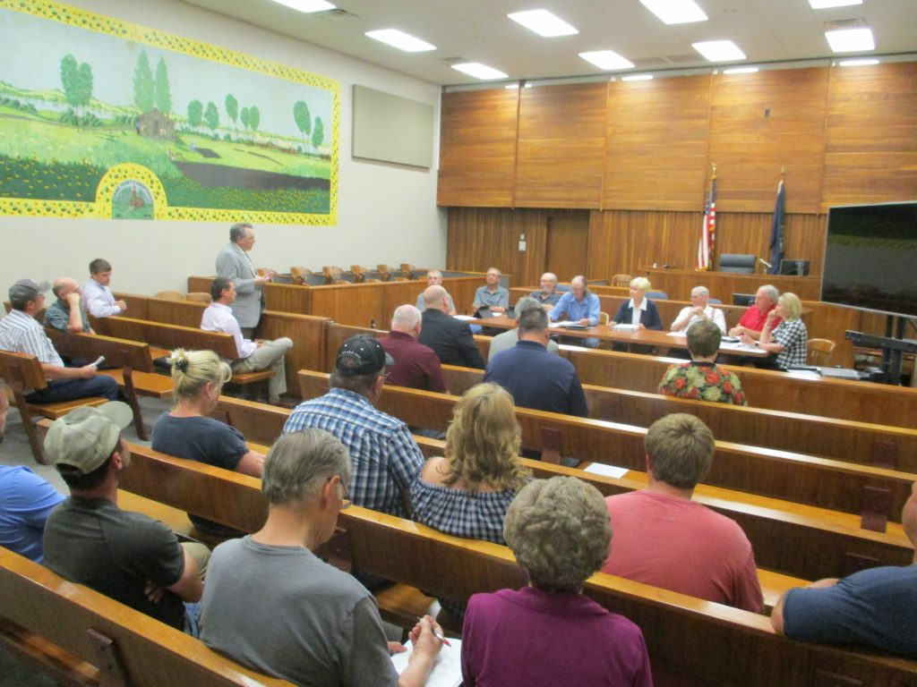 (AUDIO) Cuming County Board denies Wind Turbine Application