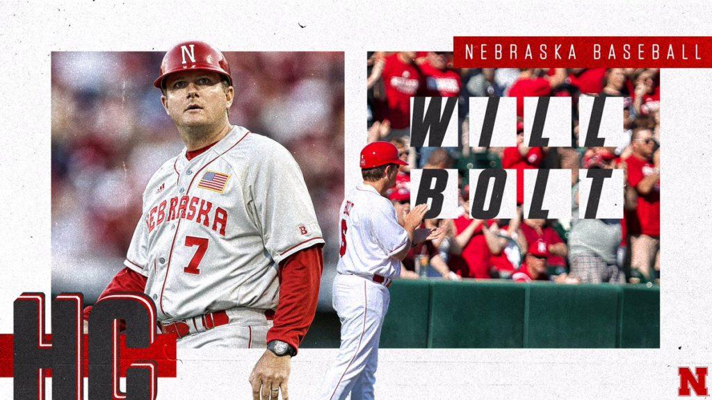 Nebraska Names Will Bolt Head Baseball Coach
