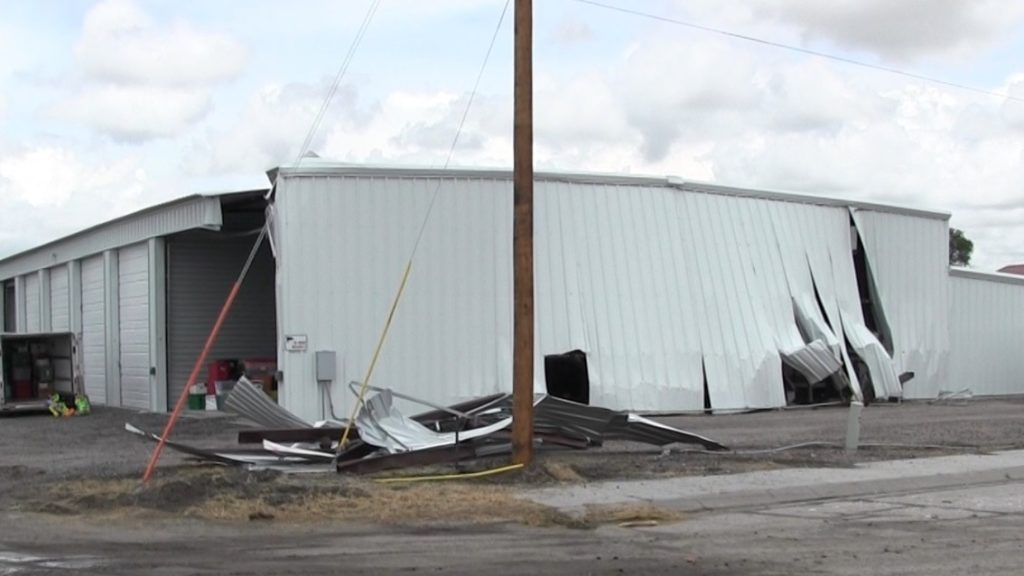 Hit and run semi causes significant damage to Scottsbluff storage building