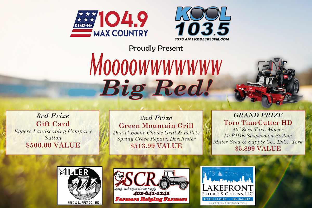 Mow Big Red York S Max Country 104 9 1370 Kawl