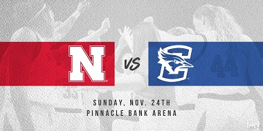 Husker Women Announce Annual Clash with Creighton