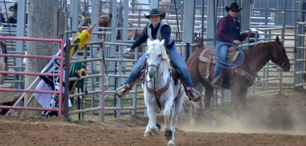 CSC cowgirl opens National College Finals Rodeo with fast time