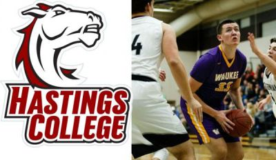 Hastings College Signs Post