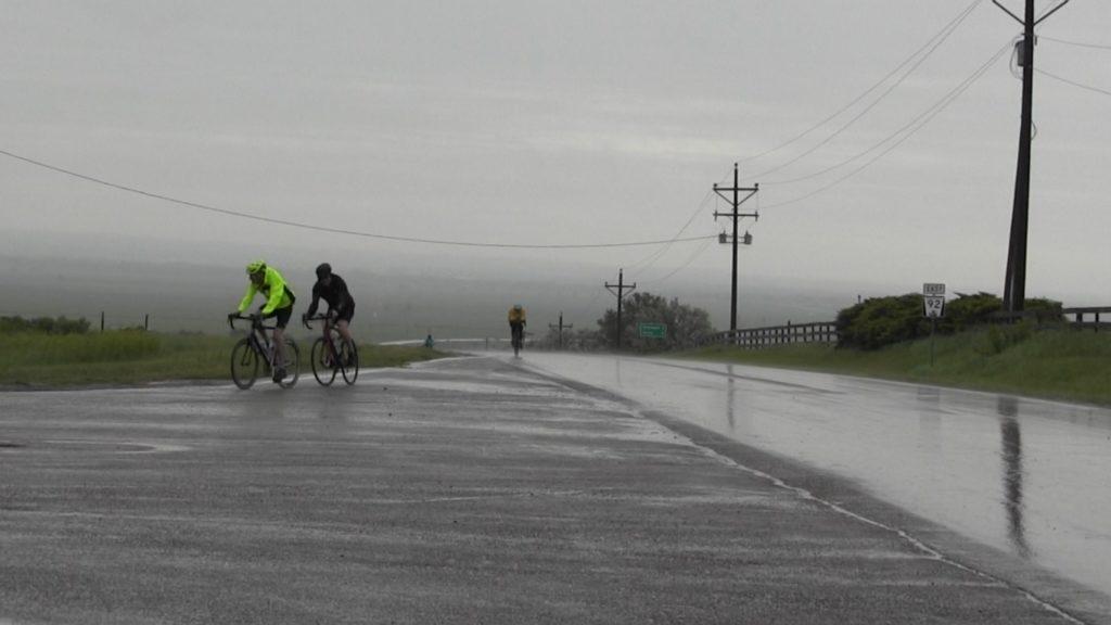 Tour de Nebraska cyclists soldier on despite rain, threat of more storms