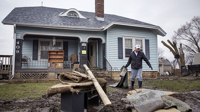 Counties assess damage in aftermath of south central Nebraska flooding
