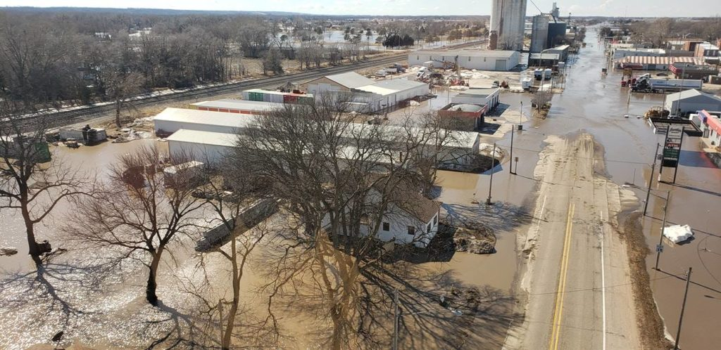 Small Nebraska post office reopens months after flooding