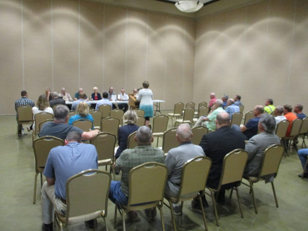 (AUDIO) Cuming County Board of Supervisors approve Bluestem's reapplication for Wind Turbine Facility in County