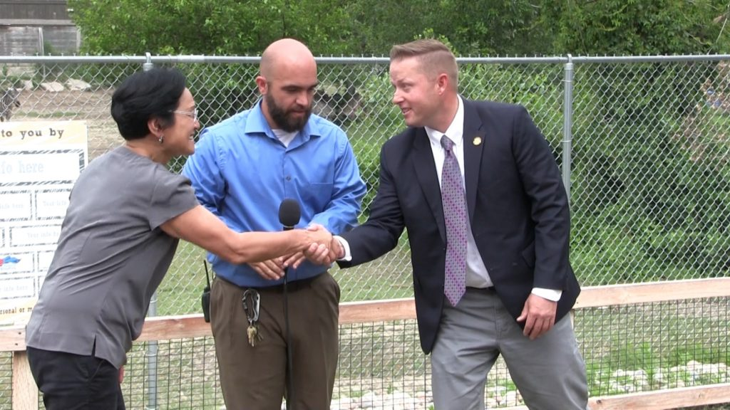 City of Gering grant brings Riverside Discovery Center closer to new bear enclosure