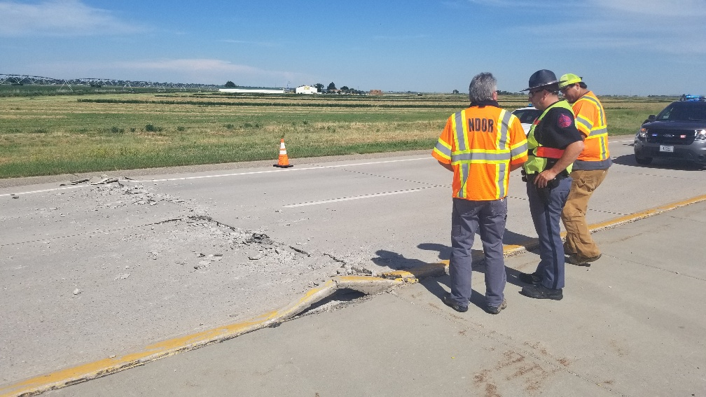 Recent local Hwy 26 break-ups not a sign of future infrastructure failure