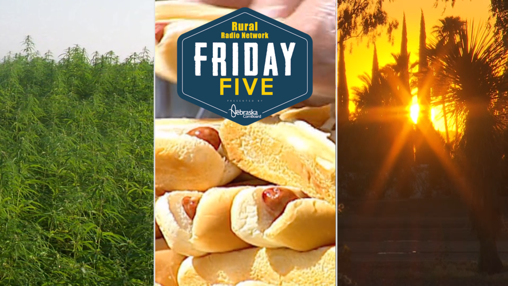 VIDEO: Hemp, Hot Dogs & Hot Temps — Friday Five (July 19, 2019)