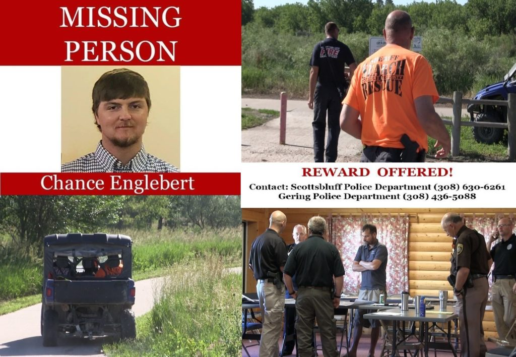 Search for missing man Chance Englebert expands west; watercraft added to Wednesday efforts