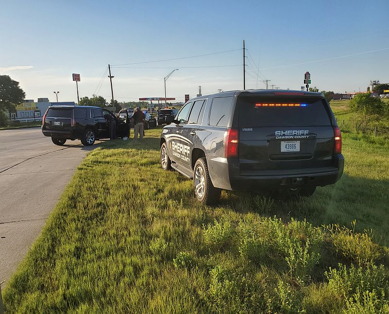 Two people detained following Dawson County pursuit Tuesday evening