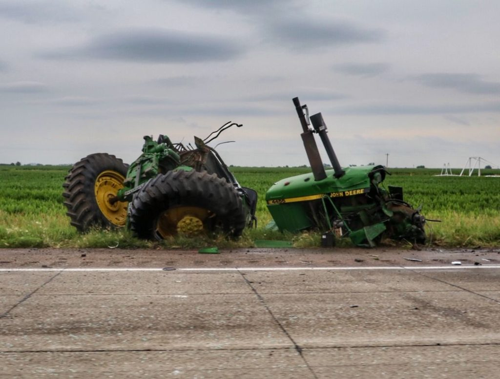 Tractor operator flown for further care following Cozad accident