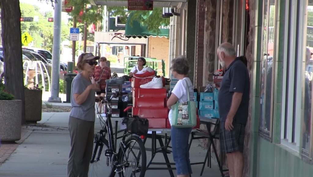 Downtown Scottsbluff Sidewalk Sales in full swing