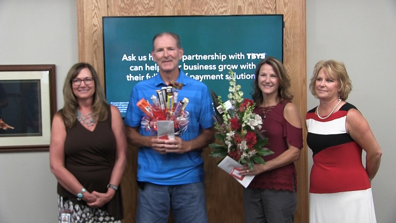 Two teachers get jump start on classroom readiness with boost by local bank