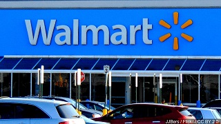 (AUDIO) Fremont Walmart and Store Manager receive Big Award for flood relief efforts