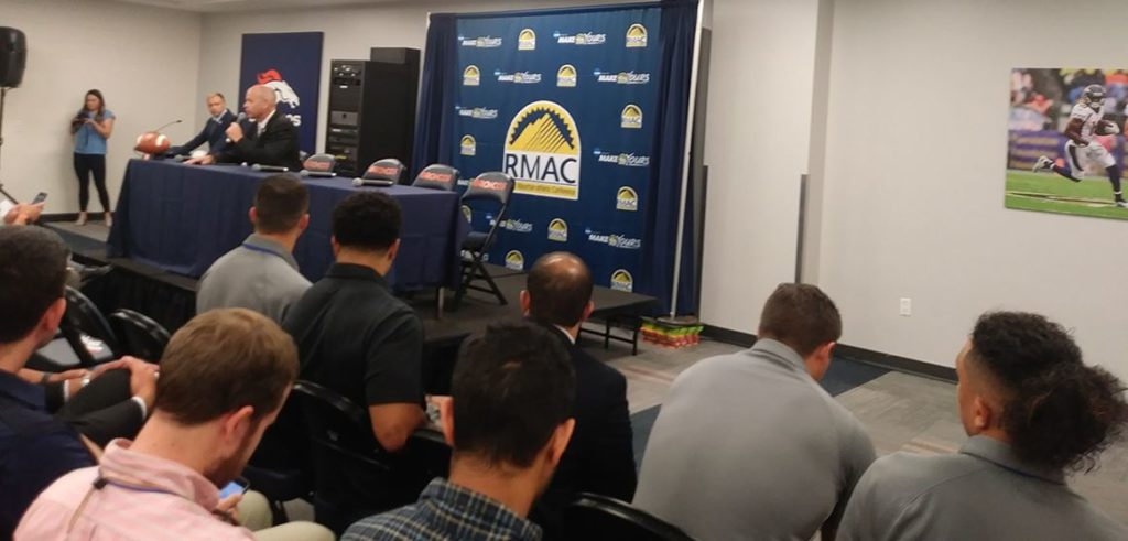 Eagles football picked 3rd in RMAC coaches poll | KRVN Radio