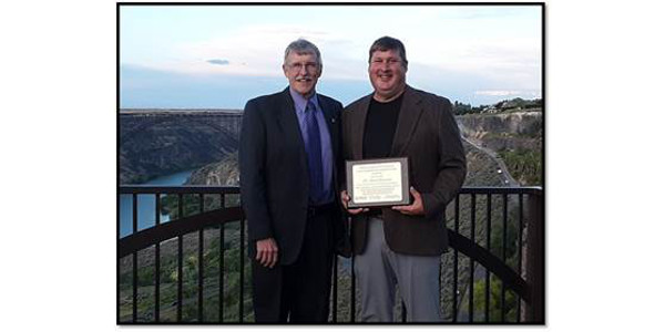 Ramsdale Recognized with the NACTA Judging and Student Service Award
