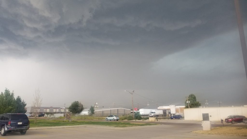 Storm brings golf-ball, larger hail and significant damage