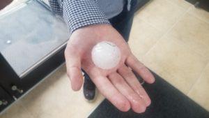 Hailstorm damages structures, vehicles in western Nebraska