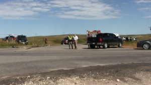 70–year-old Bluffs man airlifted following Monday morning accident