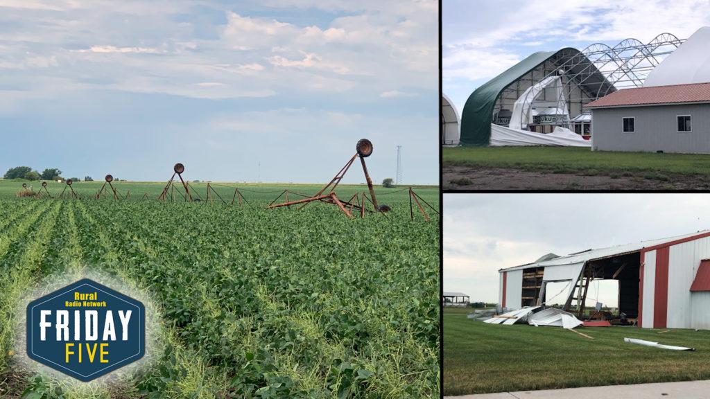 White Combine Strikes Central Nebraska — Friday Five (August 9, 2019)