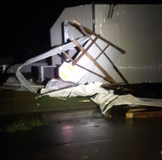 (AUDIO) Thunderstorm winds cause damages in Dawson and Buffalo counties