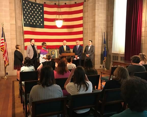 Gov. Ricketts Honors 2019 Recipients of the Governor's Wellness Award