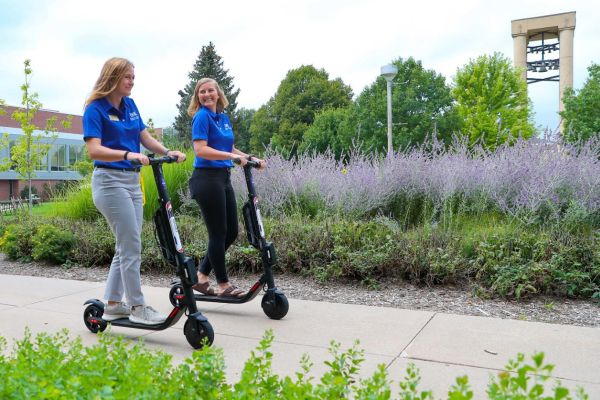 Cruising campus just got easier; Electric scooters coming to UNK next week