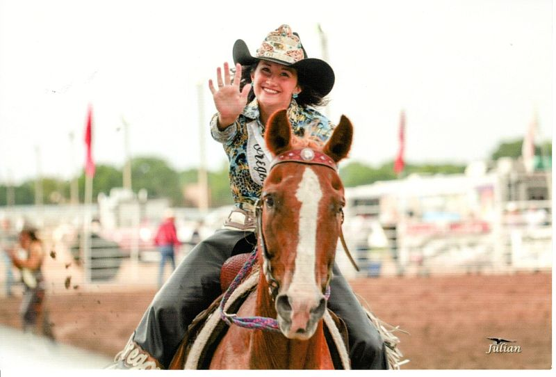 Lawrence cowgirl follows in sister's footsteps as rodeo queen
