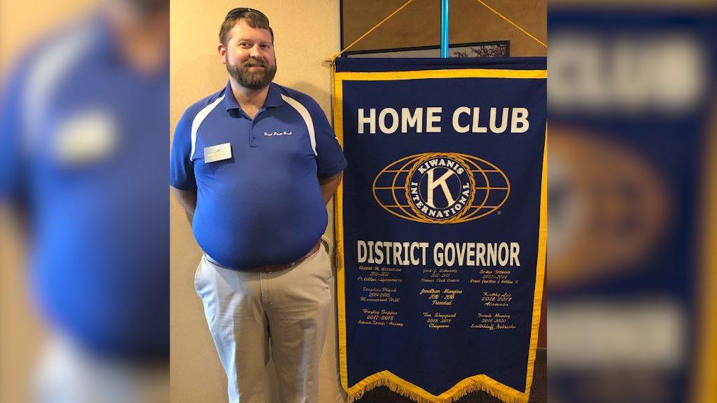 Scottsbluff Kiwanis Club Member is Organization's New District Governor