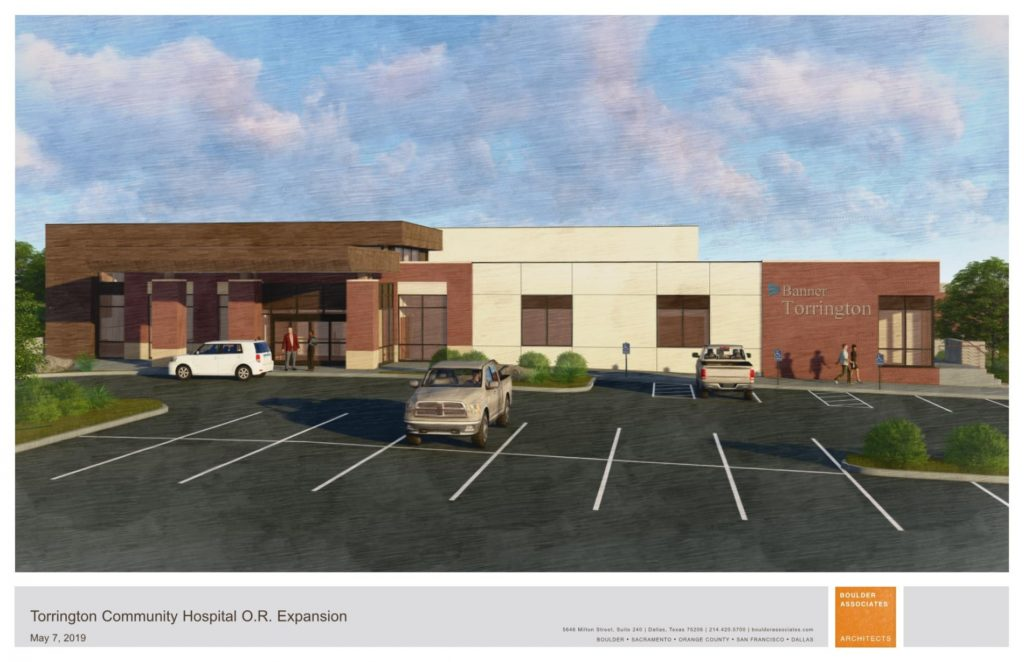 Torrington Hospital to gain new entry, improved operating suites