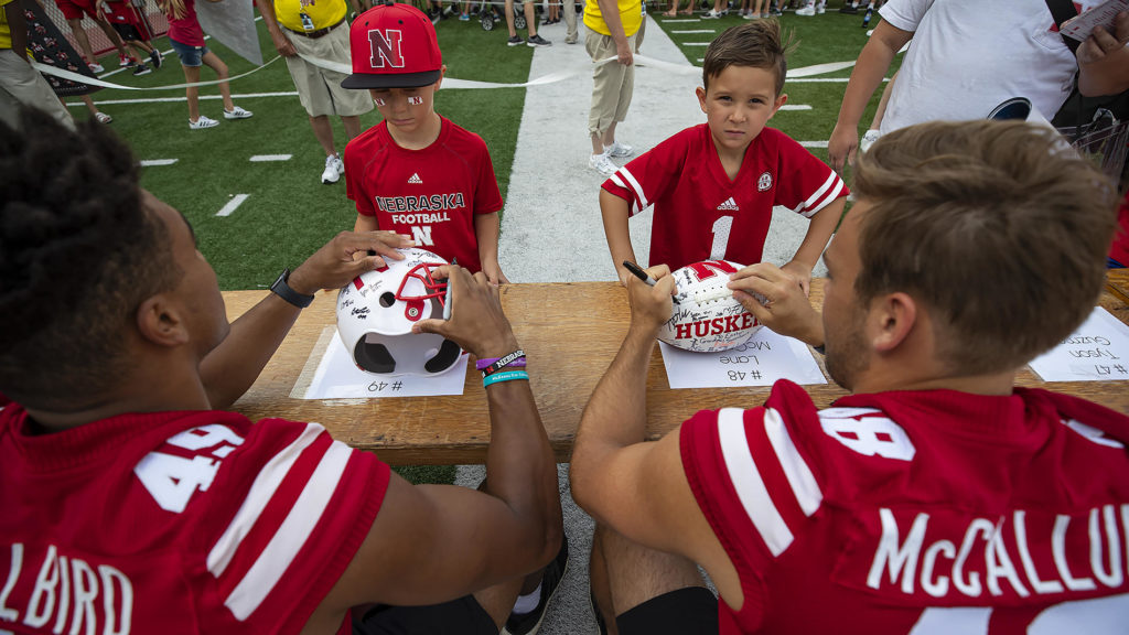 VIDEO: Huskers Start Fall Camp