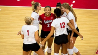 Husker Volleyball knocks off Creighton in Season Opener