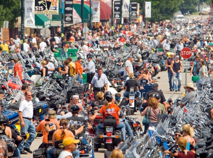Fatal crashes down at Sturgis motorcycle rally