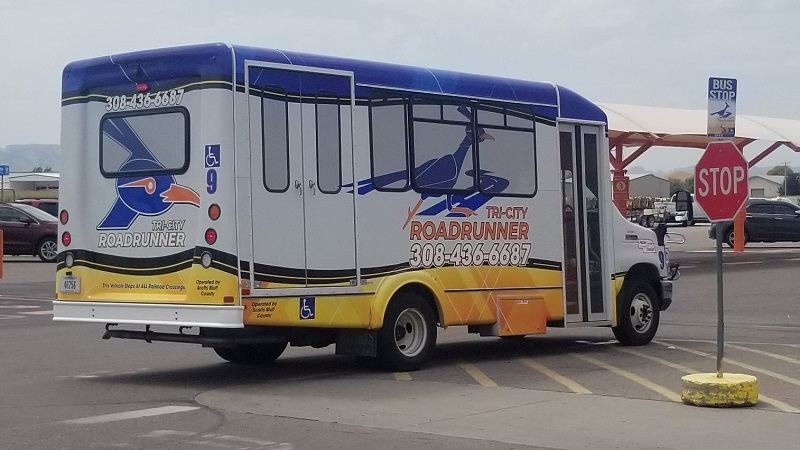 Transit Officials Seek Replacement of TriCity Roadrunner Vans