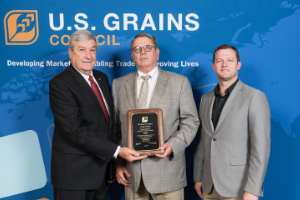 Double Decades Of Trade Promotion Work: USGC Recognizes David Gibson For 20 Years Of Service