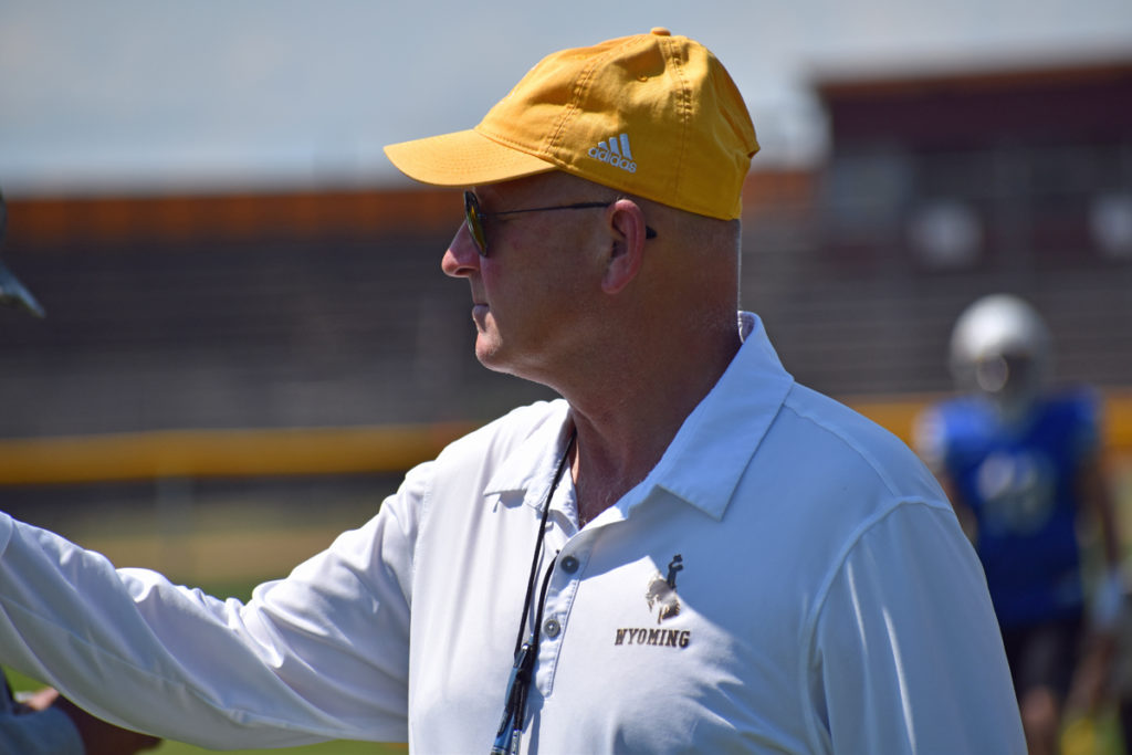 (Listen) Head Coach Craig Bohl Highlights Wyoming Scrimmage, Releases First Depth Chart of the Fall