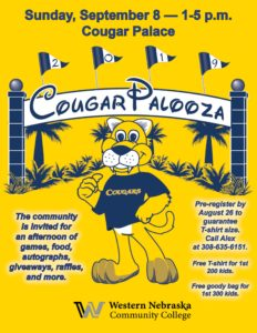 WNCC to Hold Cougar Palooza Sept. 8