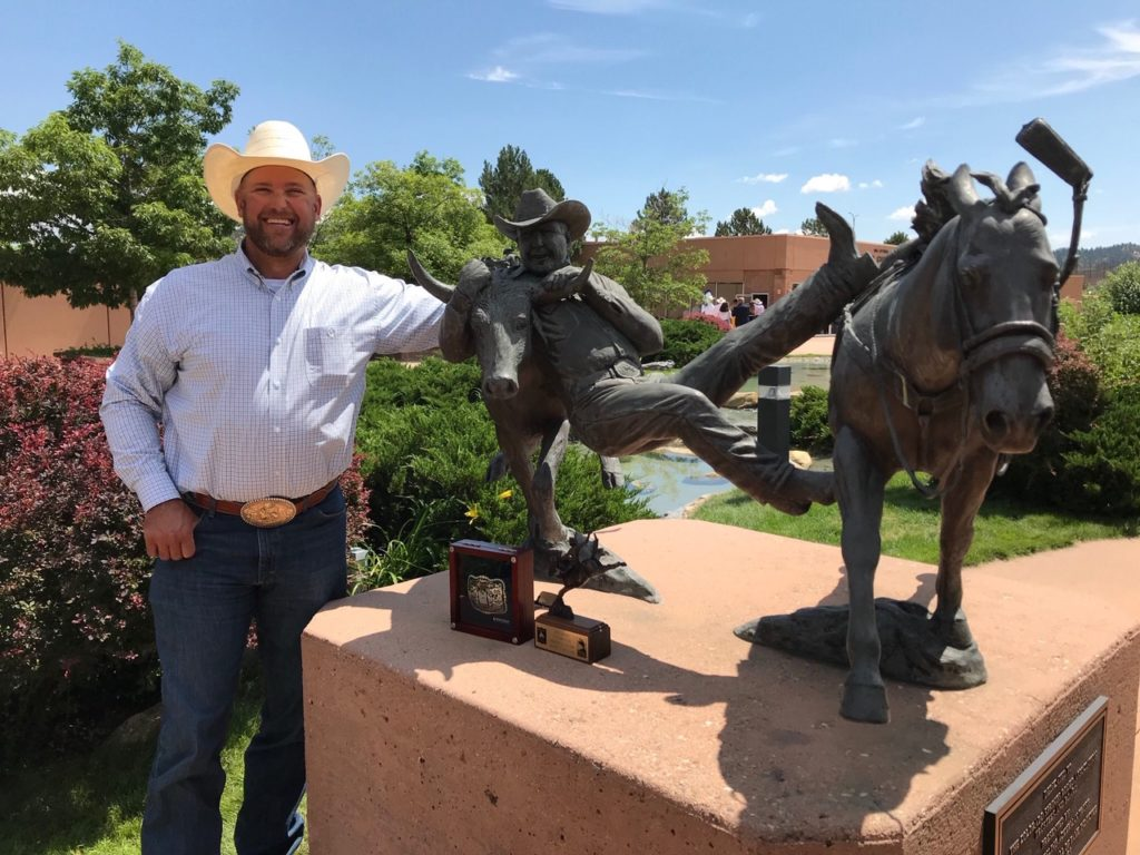 (Listen) Dean Gorsuch inducted into Pro Rodeo Hall of Fame