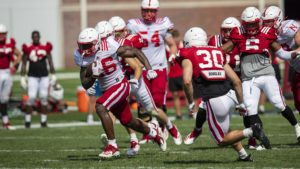 Huskers continue fall camp on Wednesday