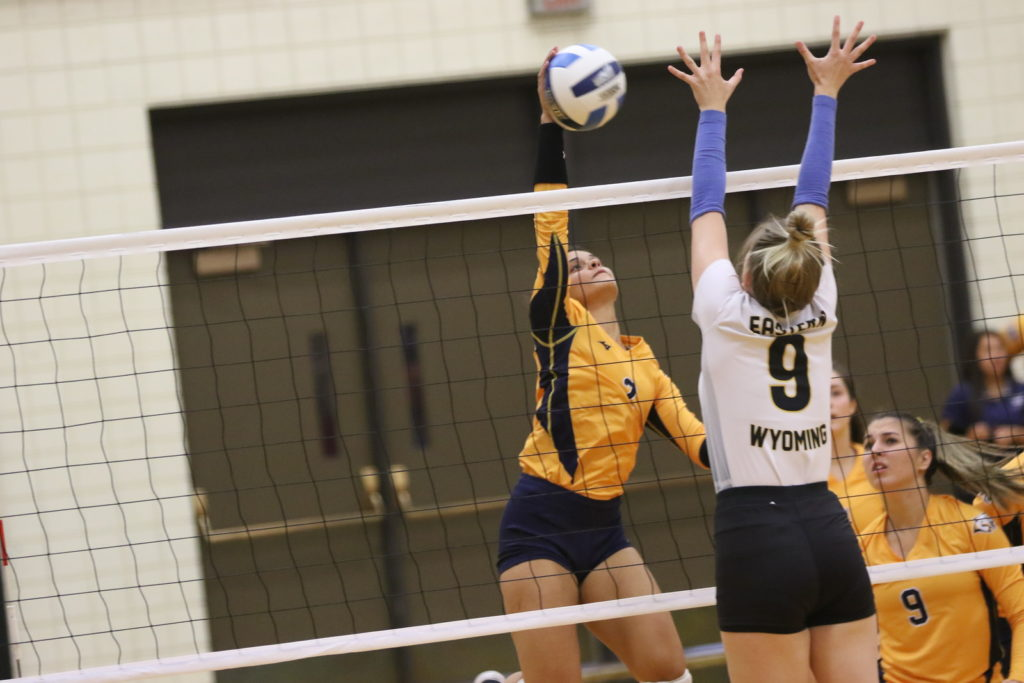 WNCC tops EWC in five sets