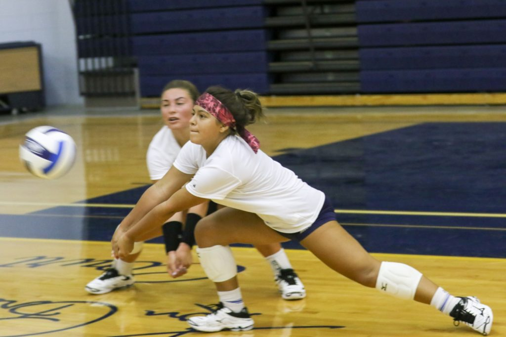 WNCC volleyball team opens up practice with plenty of depth