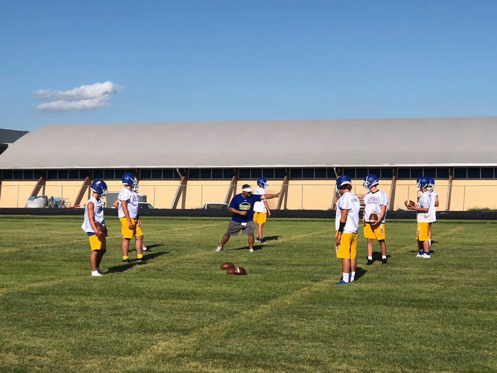 (Listen) Gering Football Hoping to Turn Corner at Fall Camp