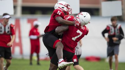 Huskers Workout On Monday