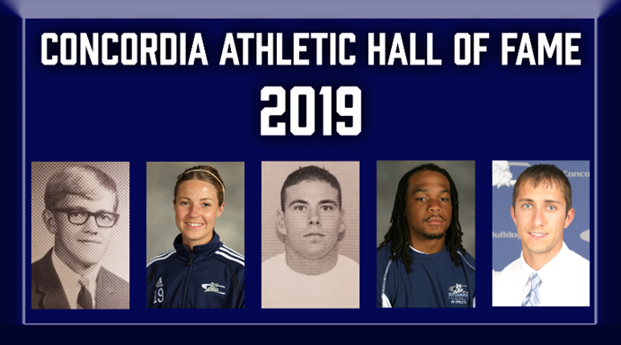Introducing the Concordia Athletic Hall of Fame Class of 2019